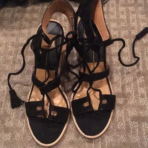 Dolce Vita Lace Up Summer Heels